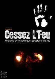 5 printemps 2013 - Compagnie Cessez L'Feu