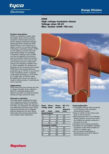 HVIS sheet - Crompton Instruments