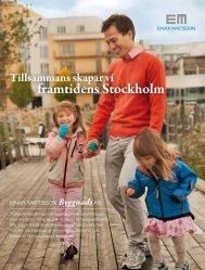Tillsammans skapar vi framtidens Stockholm - Einar Mattsson