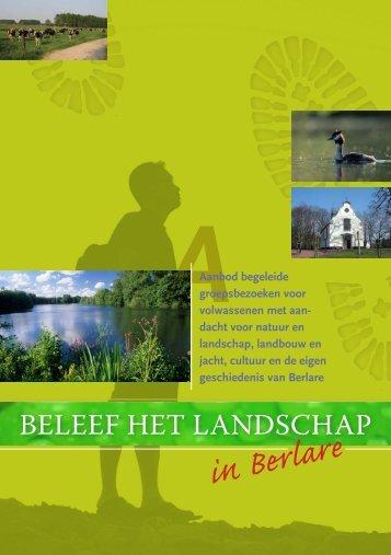 Beleef het landschap in Berlare - vzw Durme