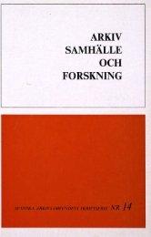 SAMHÄLLE FORSKNING - Visa filer