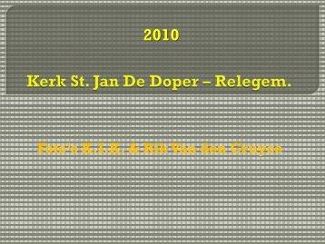 Kerk St. Jan De Doper – Relegem.