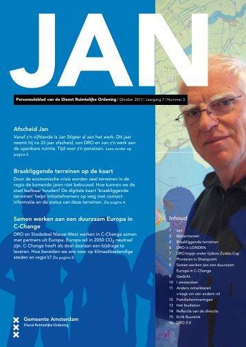Afscheid Jan Braakliggende terreinen op de kaart ... - C-Change