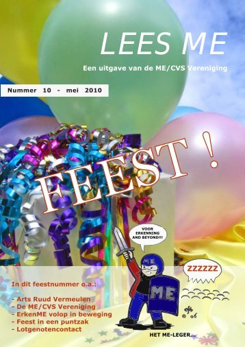 Lees ME is - ME|cvs Vereniging