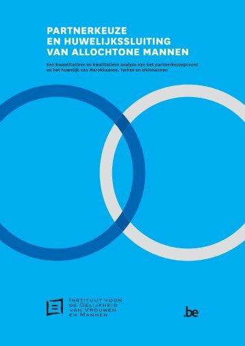 Partnerkeuze en huwelijkssluiting van allochtone ... - igvm - Belgium