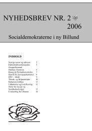 NYHEDSBREV NR. 2 2006 - Billund