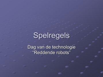Spelregels - Dag van de TECHNOLOGIE