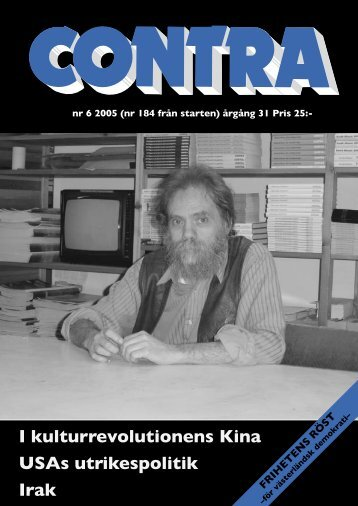 Nummer 6 2005 - Contra