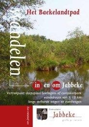 Wandelpad het Baeckelandtpad - gemeente Jabbeke