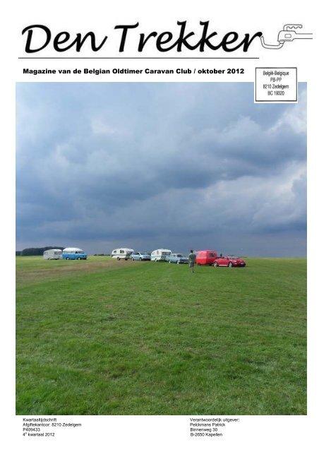Magazine van de Belgian Oldtimer Caravan Club / oktober 2012