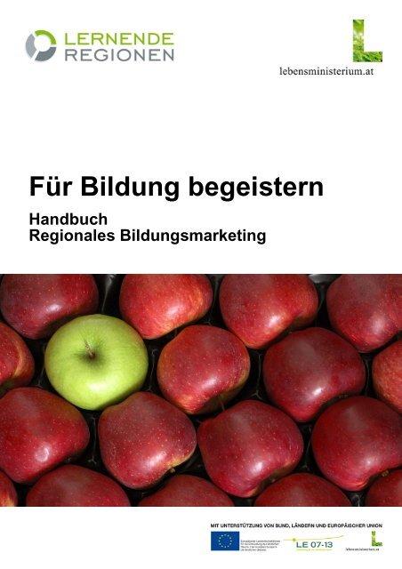 Handbuch Regionales Bildungsmarketing - Österreichisches Institut ...