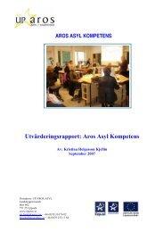 Utvärderingsrapport: Aros Asyl Kompetens - Tema asyl & integration