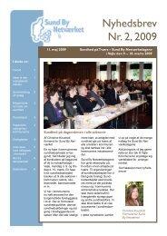 Nyhedsbrev Nr. 2, 2009 - Til forsiden - Sund By Netværket
