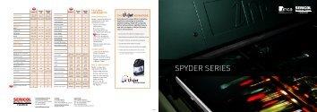 Download Spyder brochure - FUJIFILM SERICOL