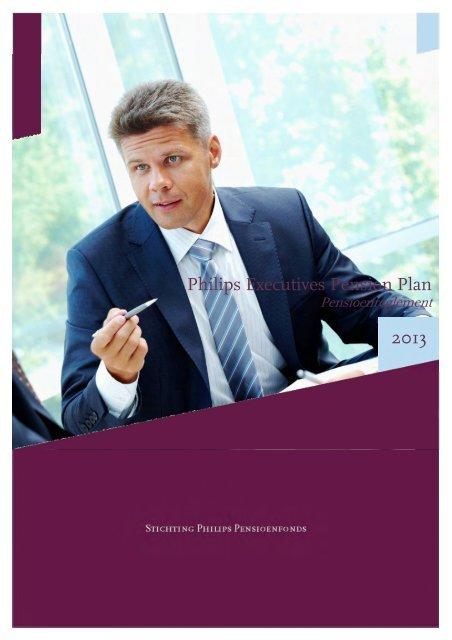 Pensioenreglement Philips Executives Pension Plan