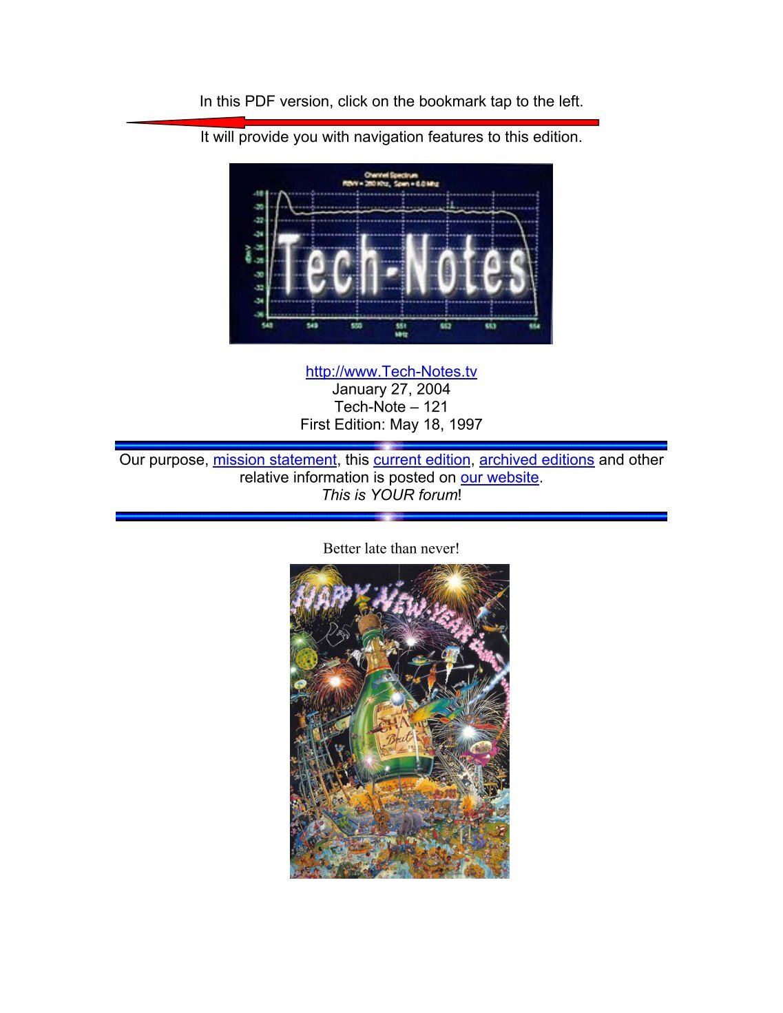 2 Free Magazines From Technotestv Click The Image For A Pdf Version