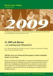 Svensk PDF (234 KB) - Burma.nu