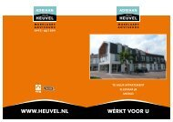 TE HUUR appaRTEmEnT EllEnaaR 5b miERlo - Adriaan van den ...