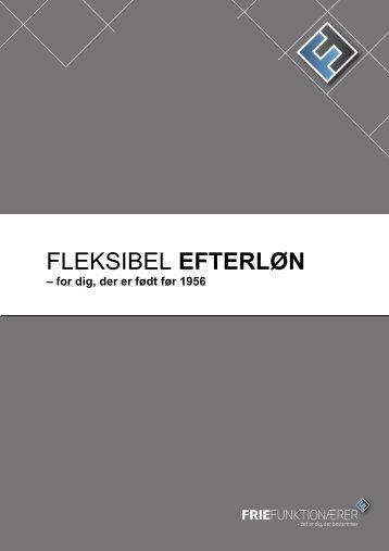 Fleksibel efterløn - for dig der er født før 1956 - Frie Funktionærer
