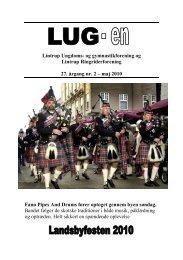 maj 2010 Fanø Pipes And Drums fører - lintrup.dk