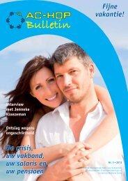 Bulletin 3 - 2012 (550 kb) - AC-HOP