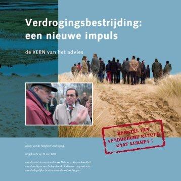 samenvatting advies taskforce verdroging - Bomengids.nl