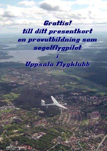 Grattis! - Uppsala Flygklubb