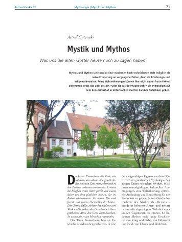 Mystik und Mythos - Geschichtenwelt, Barbara Goossens