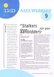 Nieuwsbrief SSGA nr 09 - GGD Amsterdam