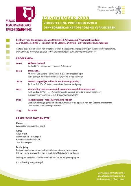 Uitnodiging studiedag 19 november 2008.pdf - LOGO Antwerpen