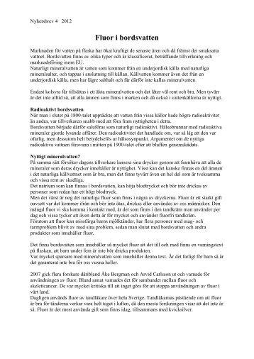 Nyhetsbrev 4 2012 - Utbildningscenter