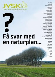 Naturplaner - Jysk Landbrugsrådgivning