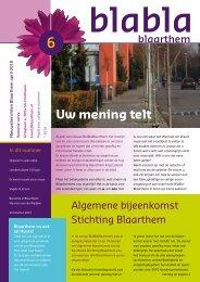 BlaBlaBlaarthem april 2010 PDF - Stichting Blaarthem