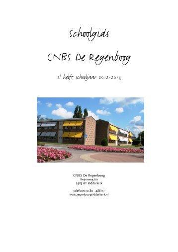 Schoolgids CNBS De Regenboog