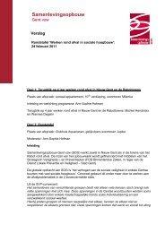 Werken rond afval in sociale hoogbouw - Samenlevingsopbouw Gent