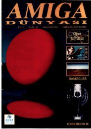 Amiga Dunyasi - Sayi 15 (Agustos 1991).pdf - Retro Dergi