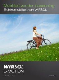 Download E-MOTION Brochure (PDF, 4 MB) - WIRSOL