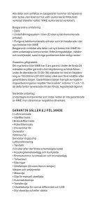 Villkor för garanti (pdf) - Mitsubishi - Page 4