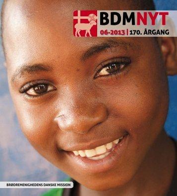 nr. 6/2013 - Brødremenighedens Danske Mission