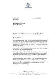 Yttrande FÖ2011/613/MFU 2011-06-21 ... - Försvarsförbundet
