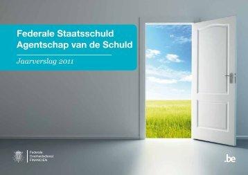 Agentschap van de Schuld, Jaarverslag 2011 (Pdf, 4 Mb)
