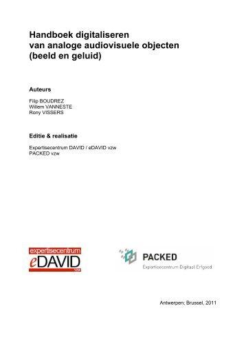 Handboek digitaliseren van analoge audiovisuele objecten ... - CEST