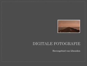 DIGITALE FOTOGRAFIE - Henk van Schie