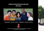 Uddannelsesforberedende Kursus - Andebølle Ungdomshøjskole
