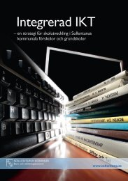 IKT-strategi 2011 Sollentunas kommunalas skolor