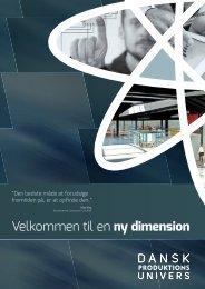 Brochure - Dansk Produktions Univers