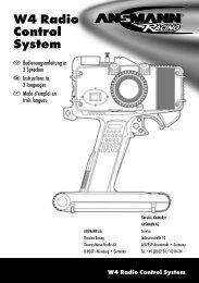 W4 Radio Control System - Ansmann