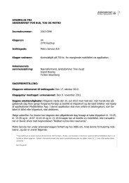Afgørelse 2012-0396, 23. april 2013 -Metro - billet ikke leveret, da ...