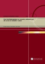 Rapport 1056 In vitro.pdf - Svenska EnergiAskor AB