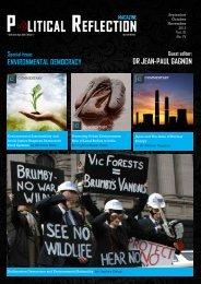 Political Reflection Vol 3 No 4 - Get a Free Blog